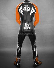 Latex Rubber Men Handsome Racing Suit Bodysuit Kostüm Catsuit Size XXS-XXL