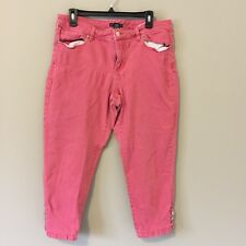 New York & Company Size 14 Pink Jeans