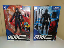 G.I. JOE Classified Series Snake Eyes and Cobra Commander *NEW* HASBRO