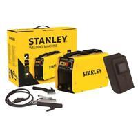 Stanley Inverter Elektroden Schweißgerät WD130IC1 SET Schweißmaske mobil 130A