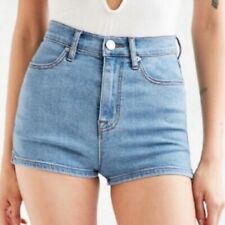 Urban Outfitter BDG 29 in. Womens pin up super high rise denim shorts jean blue