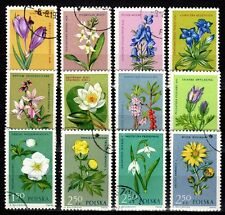 Poland - 1962 Flowers - Mi. 1325-36 VFU