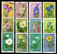 Poland - 1962 Flowers - Mi. 1325-36 VFU
