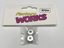 "Factory Works Vintage 12mm Kyosho Wheel Adapters For 1/4"" RC10 Axles"
