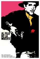 Movie Poster for American film AL FILO de la muerte.Western.Room art decoration