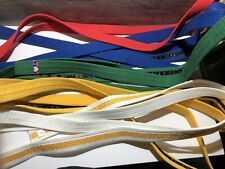 LOT OF 9 Taekwondo Judo MMA Karate Belts Martial Arts Belts Different Color