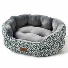 Small Dog Bed for Small Dogs Washable, Cat Bed for Indoor Cats, Round Super Soft