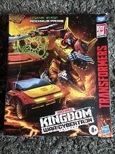 Transformers Kingdom Rodimus Prime Commander WFC-K29 War for Cybertron (In hand)