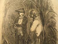 African Preacher 1849 FIRST EDITION Virginia Slave Illustrated Rev William White