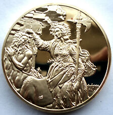Sandro Botticelli, Pallas And The Centaur c1482 Bu Proof Medal 50.75mm 80g 24kt