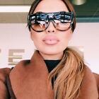 Designer Flat Top Aviators Square Oversized Shadow Big Sunglasses Celebrity