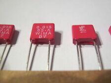 15nF, 0,015µF, 63V-  10%  RM5, WIMA  25 Stück/piece.= 3,98 €