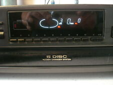 Technics SL-PD887 5 Disc Rotary Carousel CD Changer Player Tested Works