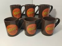Reese's Peanut Butter Cups Two Great Taste Collection Mugs Set Of 6 Fitz And...