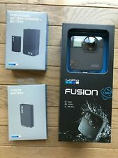 GoPro Fusion Action Camera + Fusion Dual Battery Charger + Battery MSRP $599++