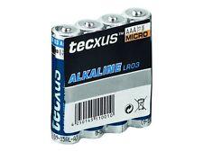 tecxus Micro AAA Batterie Lr03/r3 - 1 5volt