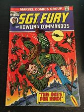 Sgt.Fury#109 Awesome Comdition 5.0(1973) Dick Ayers Art, Howling Commandos