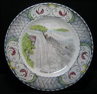 Vintage STAFFORDSHIRE Niagara Falls Souvenir PLATE Swinnertons New York Canada