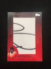 2009 Topps Career Best Jumbo Patch David Ortiz Serial #1/10 SP Boston Red Sox