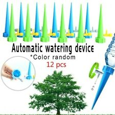 12x Plants Flower Self Automatic Drip Sprinkler Watering Irrigation Device Tools