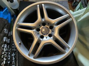 """Genuine staggered 18"""" AMG Styling IV alloy wheels set of 4 Mercedes-Benz CLS55"""