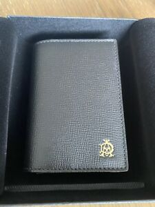 Alfred Dunhill Fulham Business Card Case Wallet Black BNWB RRP £125 Great