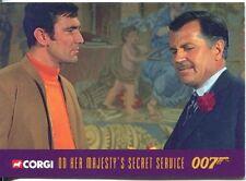 James Bond Corgi Cars Exclusive Trading Card #22 On Her Majestys Secret Service