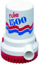 Rule 1500 GPH High Capacity Manual Bilge Pump 12V Boat Marine Model 02