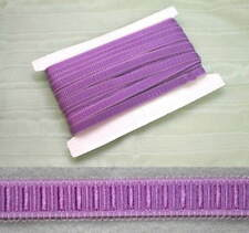 Elastic Lingerie Strapping - Purple  - 12mm 5 meters