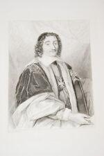 Portrait-CHANCELIER PIERRE SEGUIER-GRAVURE ACIER-VERSAILLES
