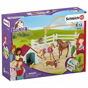 Schleich Hannahs Guest Horses with Ruby the Dog 42458  Schleich Horse Club Set