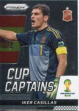 Panini Prizm Copa del Mundo 2014 Taza de Iker Casillas capitanes 14