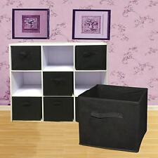 6X Foldable Cloth Storage Cube Shelf Toys Drawer Bins Organizer Kid Toys Boxes