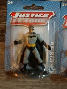 """BATMAN ACTION FIGURES JUSTICE LEAGUE DC. NEW IN CASE 2.5"""" B9"""