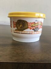 New- Rare-Tupperware Madagascar- Single 4oz Snack It Cup With Yellow Seal