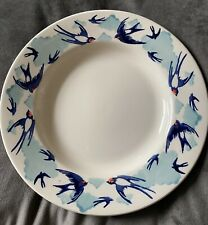 More details for emma bridgewater - blue swallows in the clouds 8.5
