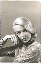 SANDRA DEE – RARE, ORIGINAL 1962 DELUX DOUBLE WEIGHT PHOTO – BY GENE TRINDL