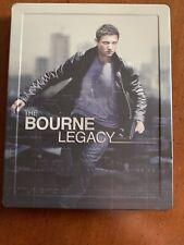 The Bourne Legacy Steelbook (Blu-ray/DVD, 2012, 2-Disc Set)