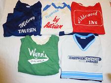 Lot of 5 Vintage Beer League Softball Baseball Jersey Shirt 70s 80s Small Medium