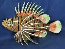 "Lion Fish Tropical Reef 8"" Wall Plaques Nautical Home Decor (B)"