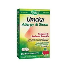 Umcka Allergy & Sinus - Berry (20 Chewable Tablets)
