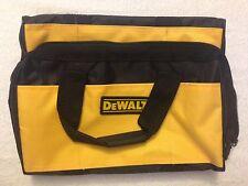 "New Dewalt Heavy Duty Ballistic Nylon Tool Bag 13"" with Solid Runners on Bottom"