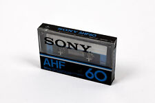 SONY AHF60 90m (×1): MADE IN FRANCE NEW SEALED BLANK CASSETTE TAPE