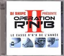 Compilation - DJ Snipe - Opération R'N'B II (Le Casse R'N'B De L'année) 2CD 2003