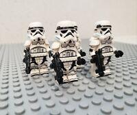 Star Wars Stormtroopers 5 Custom Minifigures Lot - USA SELLER