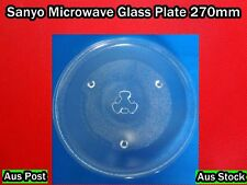 Sanyo Microwave oven Spare Parts Glass Turntable Plate Platter 270 mm  (A111)