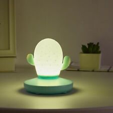 Cute Cactus Touch Dimming USB Rechargeable LED Bedside Lamp Night Light Dutiful