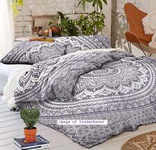 Bohemian Hippie Indian Mandala Queen Size Comforter Bedding Donna Duvet Cover
