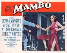 """Silvana Mangano Mambo Original 11x14"""" Lobby Card LC78"""