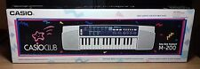 CASIO CLUB M-200 - SONG BANK ELECTRONIC KEYBOARD - NUOVO NEW OLD STOCK - Vintage